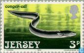 Postage Stamps - Jersey - Sea Creatures