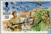 Postage Stamps - Man - Parachute Regiment 1942-1992