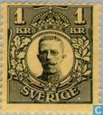 Postzegels - Zweden [SWE] - Koning Gustaf V