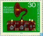 Postage Stamps - Germany, Federal Republic [DEU] - Broadcasting 1923-1973