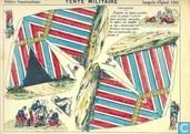 Boeken - Petits Constructions - Tente militaire