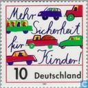 Postage Stamps - Germany, Federal Republic [DEU] - Road safety
