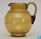 Glass / crystal - Jug - Waterkan Amber