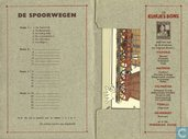 "Comics - Kuifjesbon producten - Chromo's ""spoorwegen"" 1e reeks"