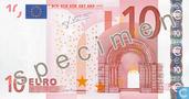 """10 Euro """"Specimen"""""""