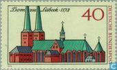 Postage Stamps - Germany, Federal Republic [DEU] - Lübeck Dom 1273-1973