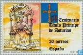 Postage Stamps - Spain [ESP] - Prince of Asturias