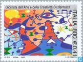Postage Stamps - Italy [ITA] - Arts and Schools