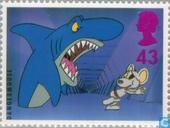Timbres-poste - Grande-Bretagne [GBR] - Télévision pour enfants 1946-1996