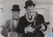Ansichtkaarten - Film Freak Productions - 305 - Laurel & Hardy