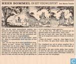 Strips - Bommel en Tom Poes - Heer Bommel en het verdwijnpunt