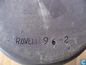 Keramiek - Berkenbast - Ravelli vaas 96-2 berkenbast patroon