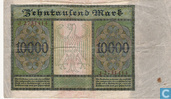 Banknotes - Reichsbanknote - Germany 10,000 Mark