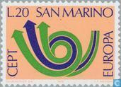Postage Stamps - San Marino - Europe – Post Horn