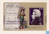 Postage Stamps - Germany, Federal Republic [DEU] - Mozart, Wolfgang Amadeus 200th year of death