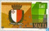Briefmarken - Malta - Heraldik
