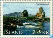 Postage Stamps - Iceland - Landscapes