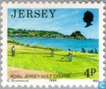 Timbres-poste - Jersey - Faces à Jersey