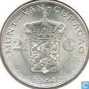 Curaçao 2½ gulden 1944