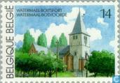 Timbres-poste - Belgique [BEL] - Tourisme - Watermael-Boitsfort