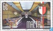 Timbres-poste - Malte - République 25 années