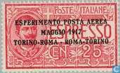 Turin-Rome flight