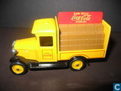 Model cars - Lledo - Ford Coca-Cola every bottle sterilized