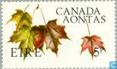 Postage Stamps - Ireland - Canada 1867-1967