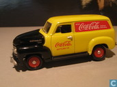 Model cars - Johnny Lightning - Chevrolet Panel Truck 'Coca-Cola'
