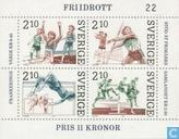 Postage Stamps - Sweden [SWE] - Athletics