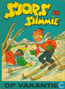 Strips - Sjors en Sjimmie - Sjors en Sjimmie op vakantie