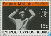 Postage Stamps - Cyprus [CYP] - European year of music
