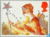 Postage Stamps - Great Britain [GBR] - Christmas Pantomime