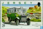 Postage Stamps - Jersey - Buses