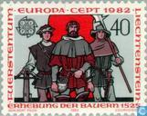 Postage Stamps - Liechtenstein - Europa – Historical events