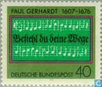 Postage Stamps - Germany, Federal Republic [DEU] - Paul Gerhardt (1607-1676)