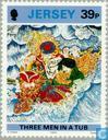 Postzegels - Jersey - Batik