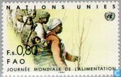 Timbres-poste - Nations unies - Genève - Journée mondiale de l'alimentation