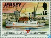 Postage Stamps - Jersey - Liberation 50 years