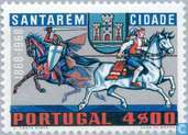 Postage Stamps - Portugal [PRT] - 100 years city rights Santarém