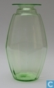 Glass / crystal - Kristalunie - Kalebas Vaas vert-chine