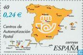 Postzegels - Spanje [ESP] - Ministerie openbare Dienst 1851-2001