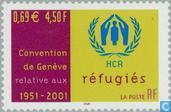 Postage Stamps - France [FRA] - Convention relating to Refugees