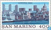 Timbres-poste - Saint-Marin - World Famous-Londres