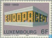 Postage Stamps - Luxembourg - Europe – Temple