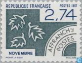 Postzegels - Frankrijk [FRA] - November
