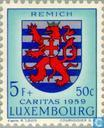 Postage Stamps - Luxembourg - Weapons cantons