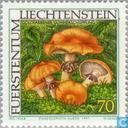Postzegels - Liechtenstein - Paddenstoelen