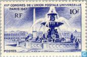 Postage Stamps - France [FRA] - 12th UPU Congress