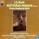 J.S.Bach Matthäus-Passion Koren, Koralen en Aria's